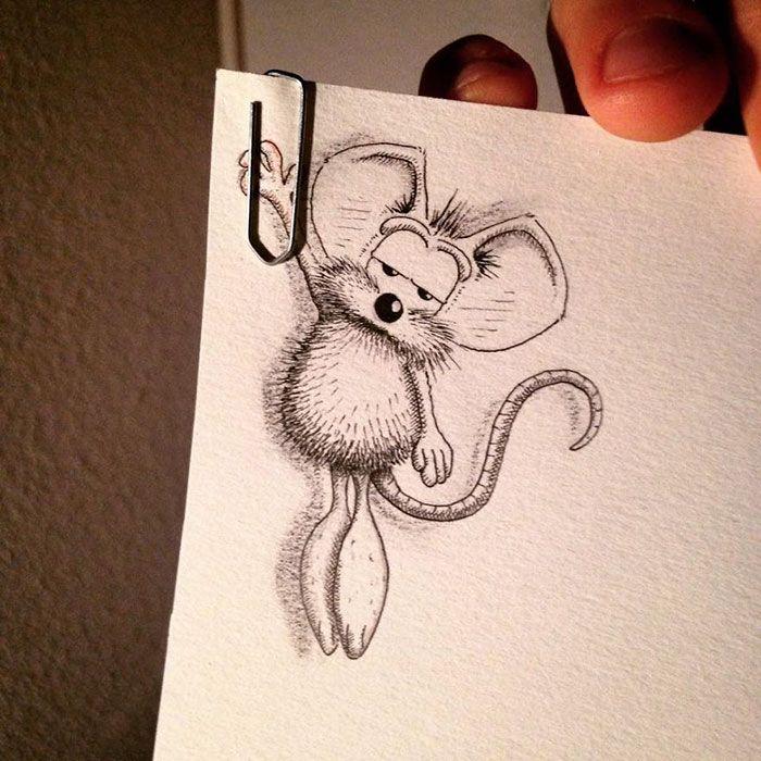 pencil-drawings-mouse-adventures-rikiki-loic-apredart-15
