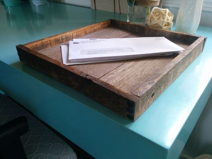 Building a Wooden Paper Tray