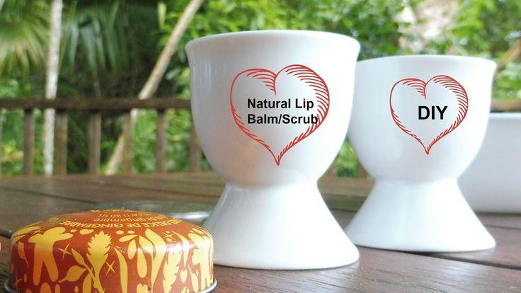 DIY Natural Lip Balm| Scrub 自己做唇膏