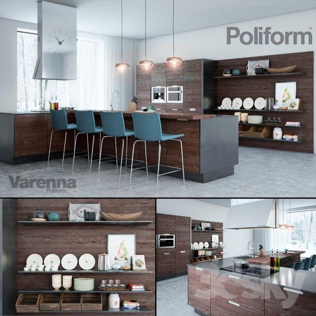 Poliform Varenna kitchen