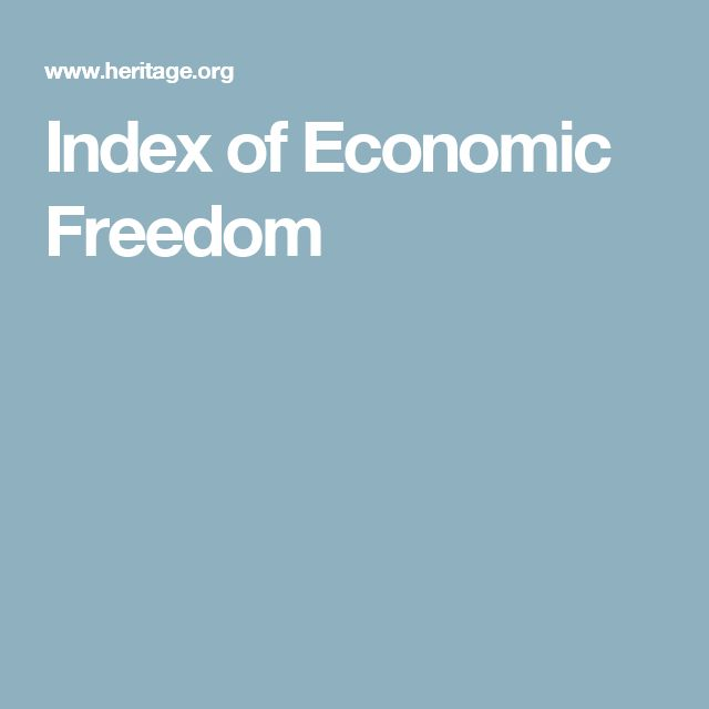 Index of Economic Freedom