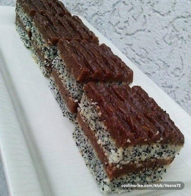 Jako ukusna posna torta,recept posvecujem Vesnimar,Saskiloko,Viki74,Marik i ostalima koji vole mak.