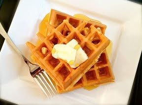 Quick and Easy Waffles Recipe - kids liked this better than pre-made waffle mix