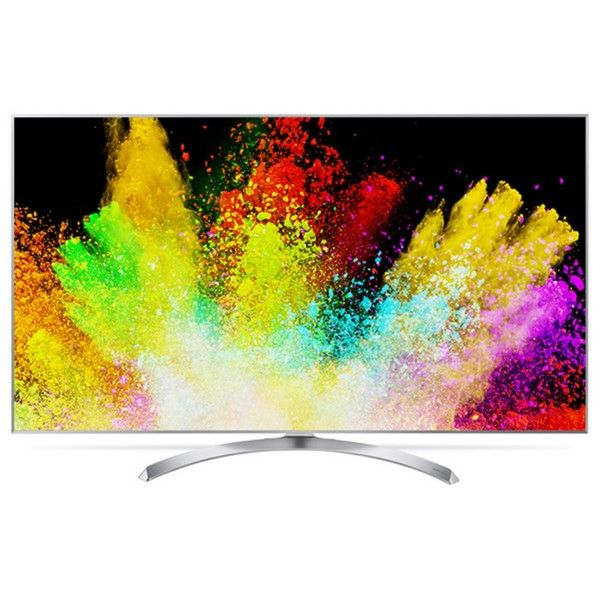 nice Smart TV LED 55 ´ Super Ultra HD 4K LG 55SJ8000 com Sistema WebOS 3.5, Wi - Fi, Nano Cell, HDR, Local Dimming, Gaming, Controle Smart Magic, HDMI e USB