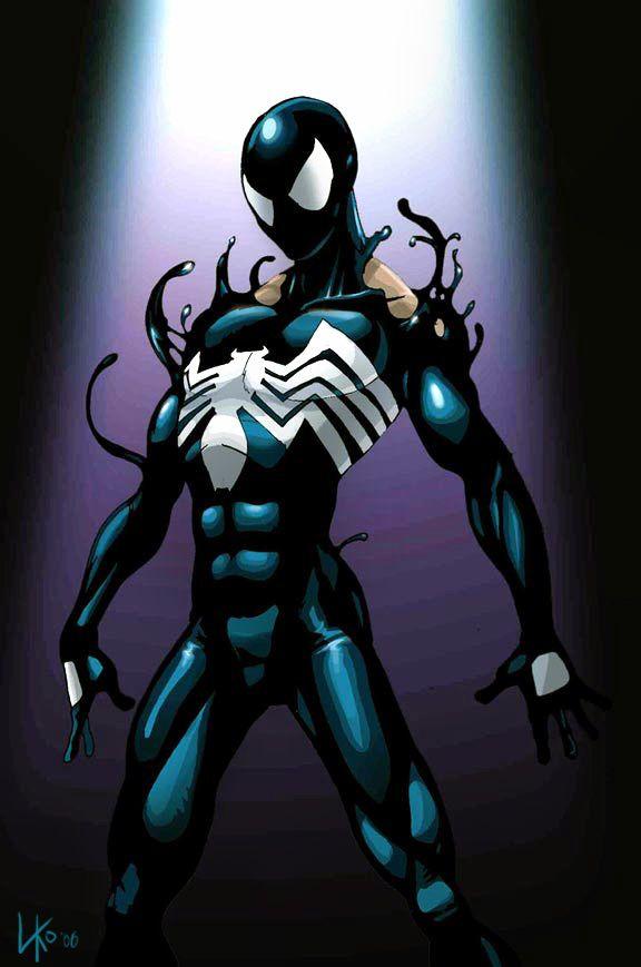 Картинки симбиот человек паук