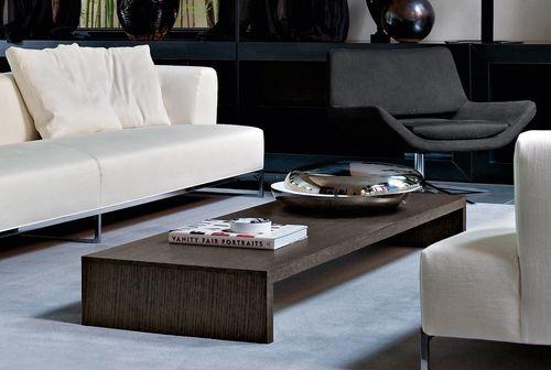 Mesa de centro moderna de madera por Studio Kairos PAB B&B Italia