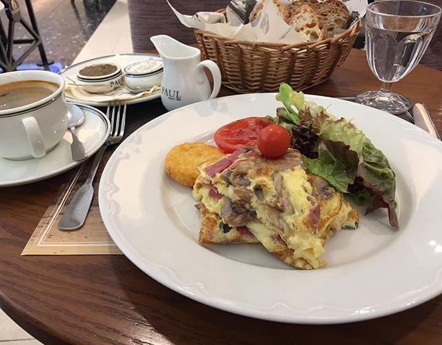 Shiny breakfast in Muscat City Center mall in Paul coffee shop, Oman  صبحانه جذاب در كافى شاپ پاول در بازار سيتى سنتر مسقط - عمان #muscat #oman #paul #breakfast #breakfastclub #delicious #chill #restourant #travelgram #travel #safar #joy #omlette #citycenter #citycentermall #مسقط #عمان #صبحانه #سفر #مسافرت #خوشمزه #املت #غذا #بازار #سيتى_سنتر #آرامش by safarkade. citycenter #سفر #غذا #restourant #safar #بازار #خوشمزه #oman #paul #delicious #املت #مسقط #آرامش #سيتى_سنتر #breakfastclub #صبحانه…
