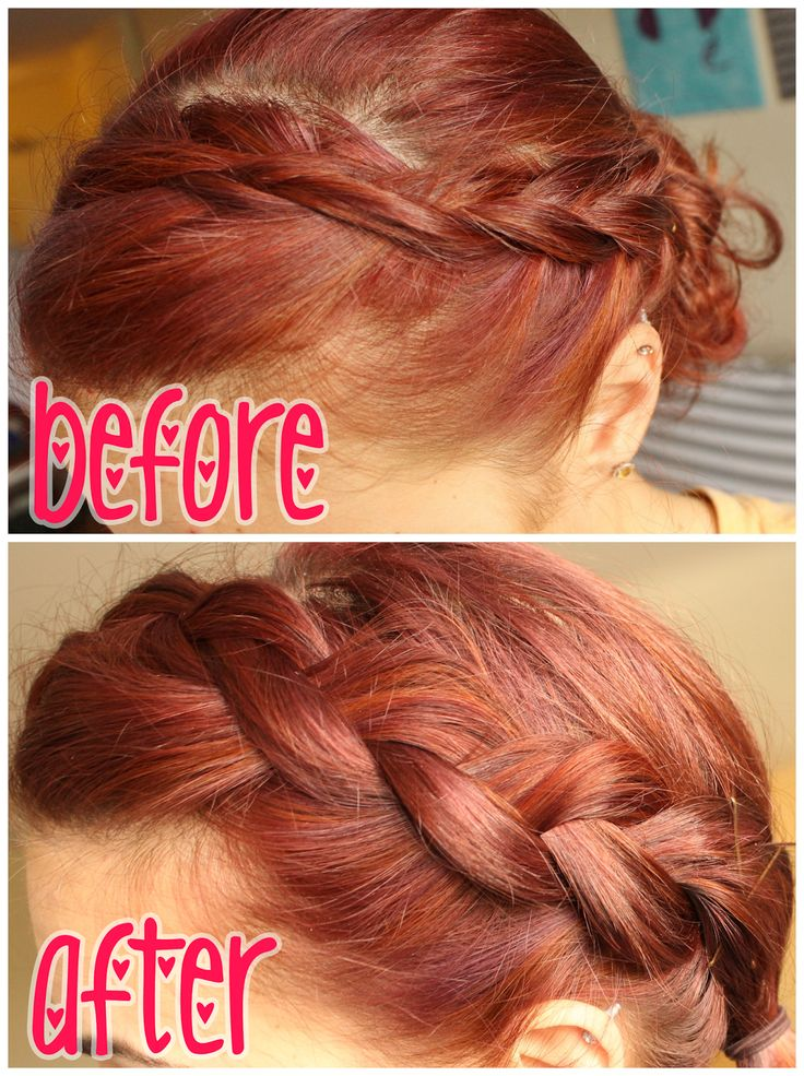 How to: get a thick bohemian braid, even if you have thin hair.