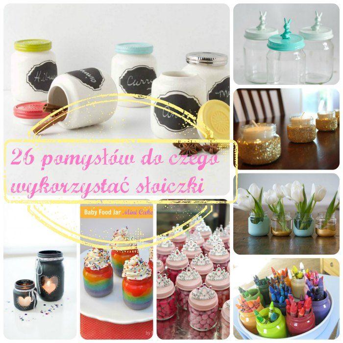 26 pomysłów do czego wykorzystać słoiczki po jedzeniu dla dzieci  diy kids crafts baby food jar re-use how to