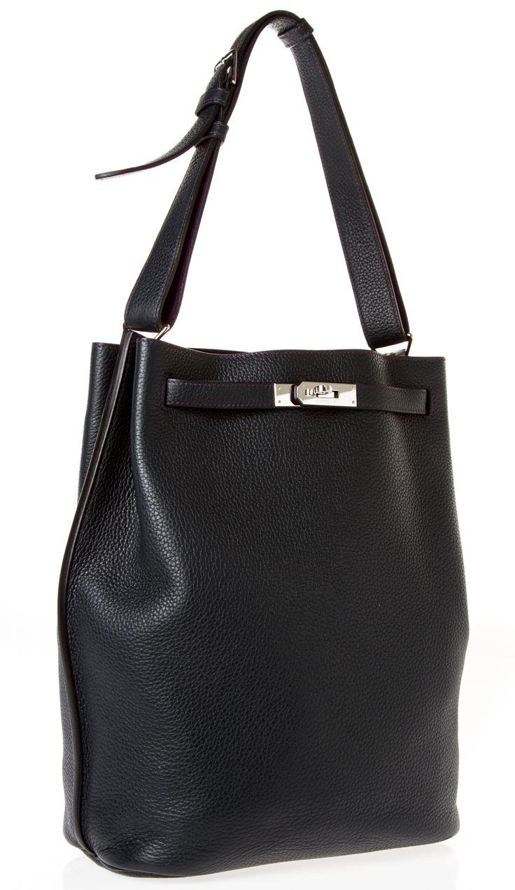 Hermes Navy/Purple So Kelly 26 Shoulder Bag @FollowShopHers