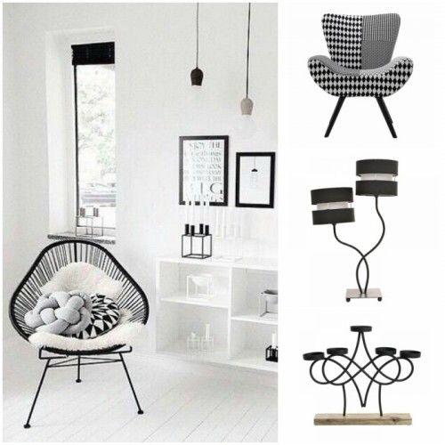 Ο συνδυασμός λευκού και μαύρου είναι μία διαχρονική τάση στη διακόσμηση που δεν φεύγει ποτέ από την μόδα και αποτελεί ιδανική επιλογή για κάθε σπίτι ανεξάρτητα από το αν είναι μικρό ή μεγάλο. #style #decor