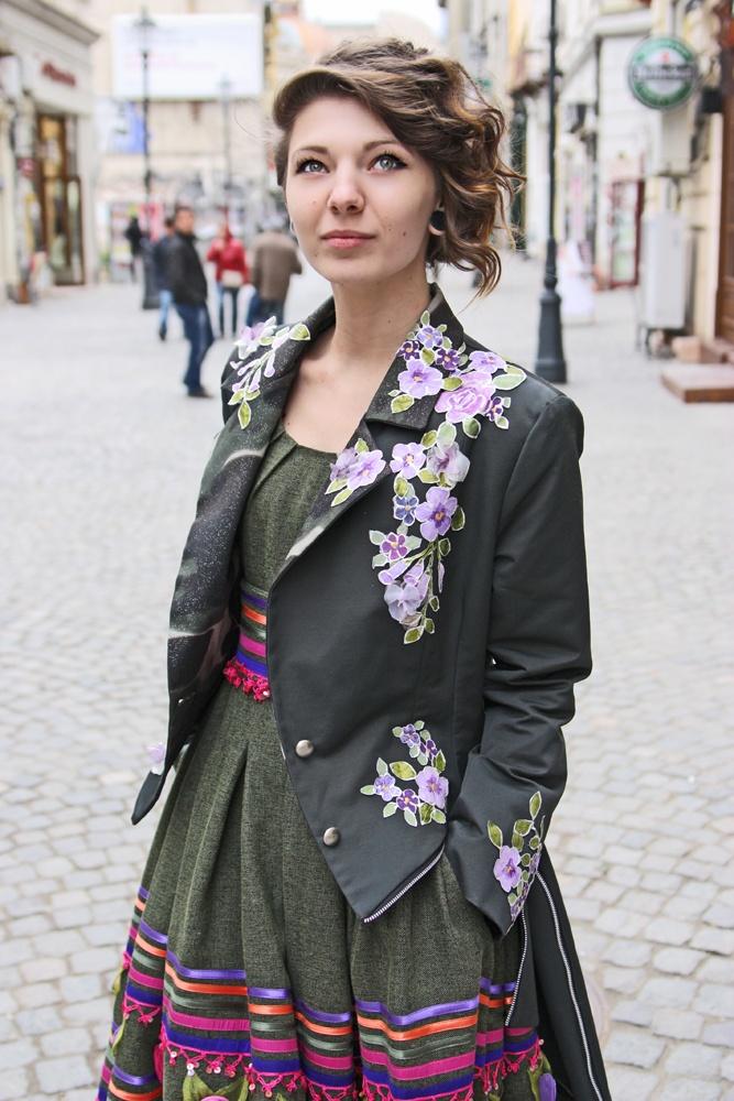 Milla Tailcoat (unique, hand painted)