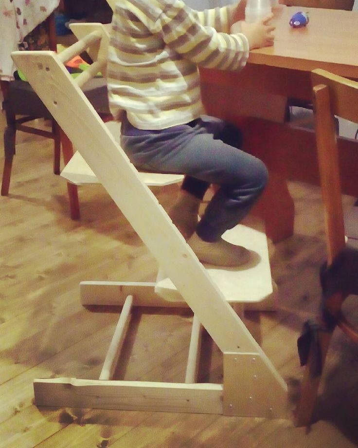 growing chair for a child DIY
