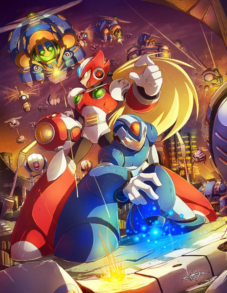 MEGAMAN TRIBUTE - First Stage by jesonite.deviantart.com on @deviantART