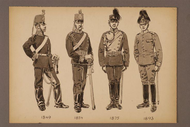 The dragoon regiment of Skåne 1849-1893 by Einar von Strokirch