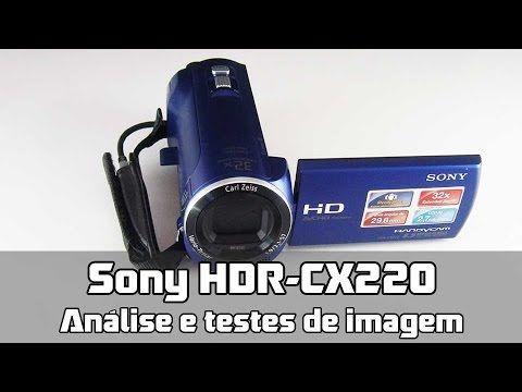 Minha análise da filmadora digital Sony CX220. Na data de publicação, está à venda no Brasil por valores entre 700 e 1000 reais. O vídeo também contém testes...