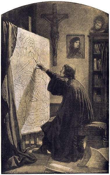 Artur Grottger - Wojna, XI. Ludzkości, rodzie Kaina, 1867