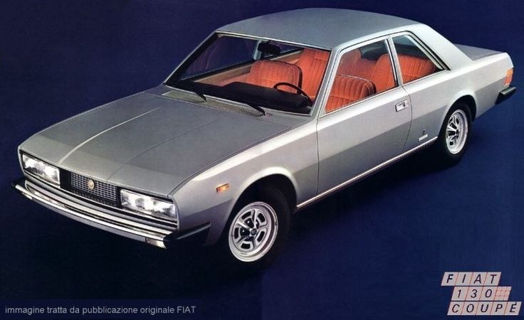 1971-1977 FIAT 130 COUPE - coachwork designed by Paolo Martin at Carrosserie Pininfarina of Turin.
