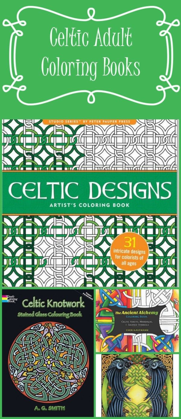Irish princess coloring pages - 5 Beautiful Celtic Adult Coloring Books Where To Find Free Printable Irish Coloring Pages