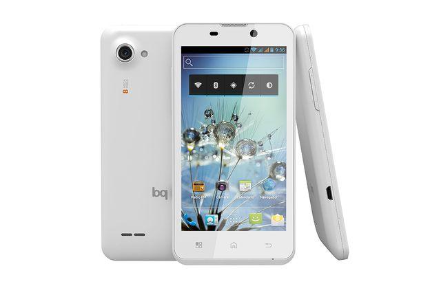bq Aquaris: la marca España de teléfonos celulares: bq Aquaris 4.5