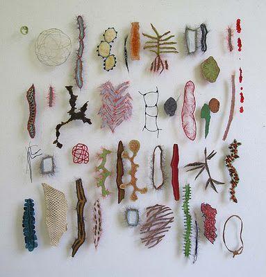 Artist's Kathryn Clark blogs on Fiber art/Articraft & her practice...