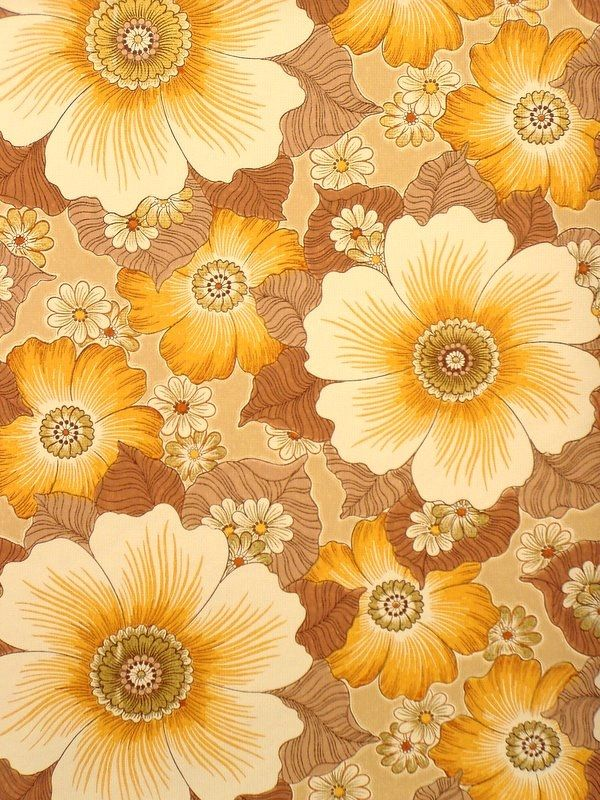 25 best ideas about vintage wallpaper patterns on pinterest peacock wallpa - Papier peint vintage 70 ...