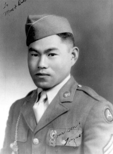 15 Jul 44: Japanese-American Staff Sergeant Kazuo Otani is killed while fighting near Pieve di Santa Luce, Italy. For his heroic actions he is posthumously awarded the Medal of Honor, one of 17 given to Japanese-Americans fighting in both Europe and the Pacific. More: http://scanningwwii.com/a?d=0715&s=440715 #WWII