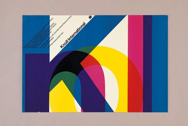 Плакат Knoll International, 1966
