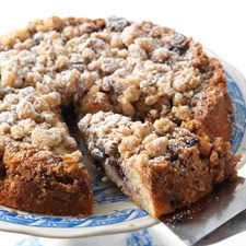 Gluten-Free Blueberry Coffeecake - this moist, tender cake is loaded with streusel, blueberries, and flavor!