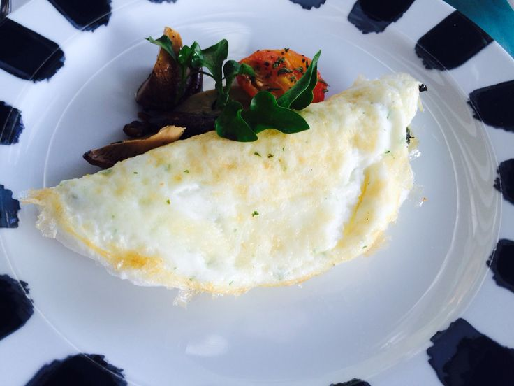 #white omlette