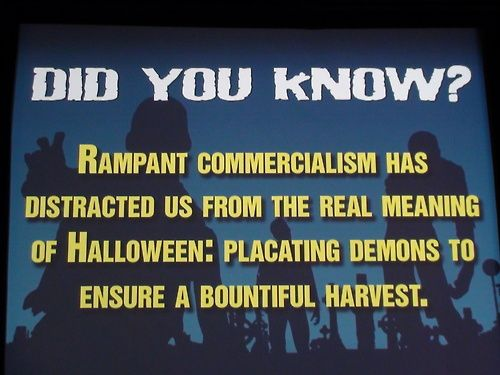 meaning of halloween
