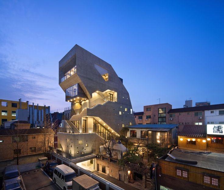 SG 39 / 강남구에 건립된 근린생활시설 건축물 _ 청담동, 압구정동, 신사동, 삼성동 도시경관 건축설계 : 네이버 블로그