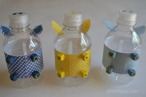 Homemade piggy bank craft DIY