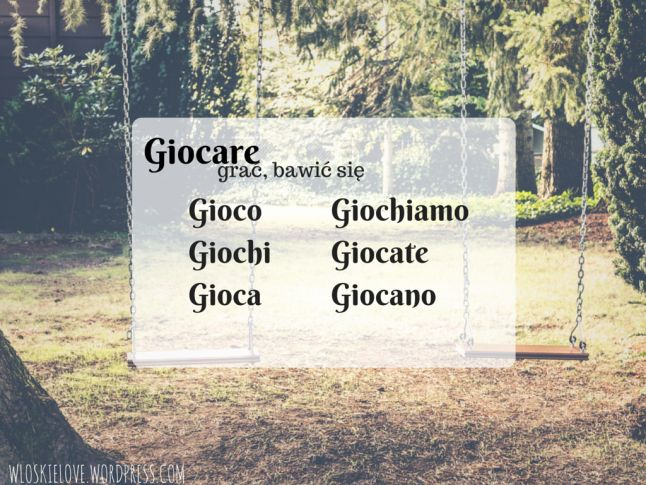 Kolejne czasowniki nieregularne: graficznie i z komentarzem   Włoskie love