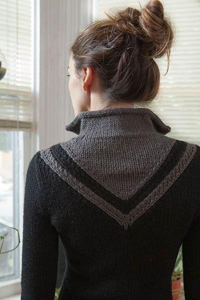 Chevron Coat Pattern - Knitting Patterns and Crochet Patterns from…
