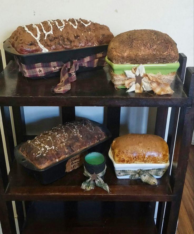Best 20 primitive crafts ideas on pinterest primitive for Artificial bread decoration
