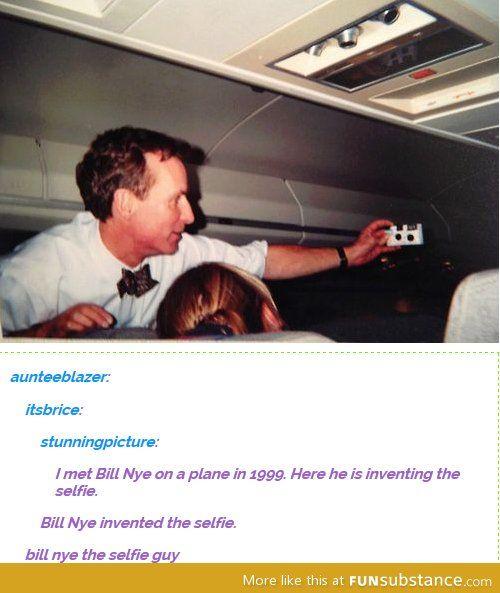 Bill Nye the selfie guy