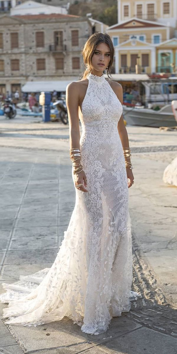 Trendy Wedding Dresses For Contemporary Bride★ trendy wedding dresses sheath h…