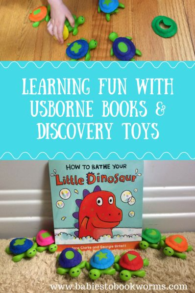 Learning with Usborne Books & Discovery Toys | Babies to Bookworms