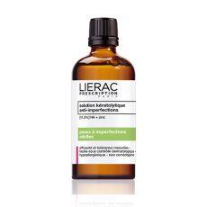 Κερατολυτικό διάλυμα κατά των ατέλειών solution kératolytique Lierac Prescription-από την 1η εφαρμογή υγιής και καθαρή επιδερμίδα χωρίς σπυράκια & ατέλειες www.lierac.gr