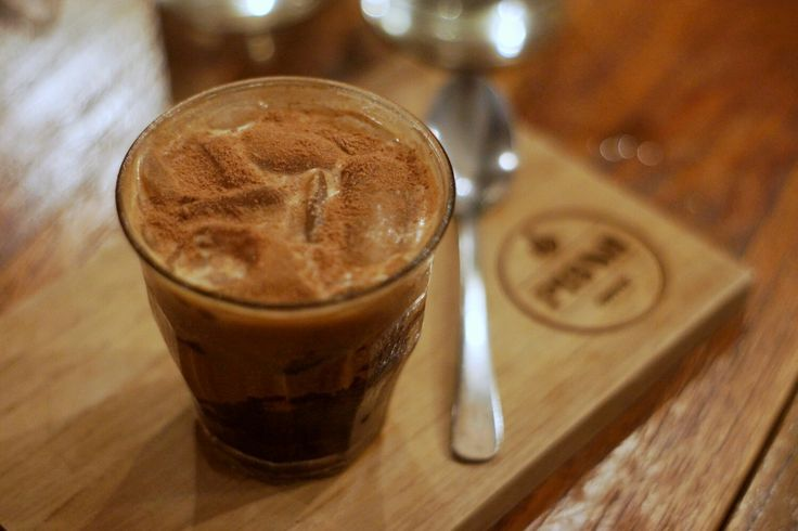 An iced coffeeis a great way to re-energize, but if you'd rather wake up to a warm batch of rich coffee, try this Nutella-infused recipe. A hotcup of mocha is all you need to start your day on a sweet note.  Ice Mocha Nutella Coffee.  #IslandLife
