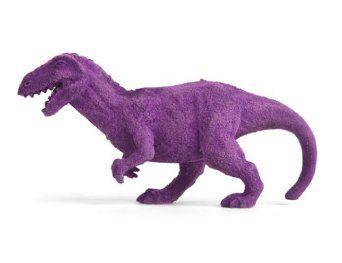 Amazon.com: T Rex Endangered Species Eraser. Purple: Toys & Games