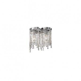 Aurora AP2 - Ideal Lux - kinkiet kryształowy #lampa_krysztalowa #abanet_krakow #ideal_lux