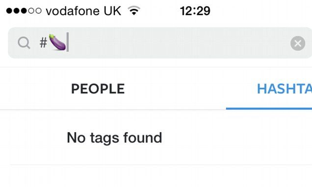 Instagram's emoji search bans the AUBERGINE due to rude connotations