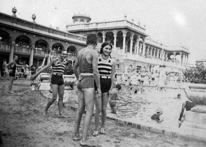 Széchenyi fürdő, 1940'évek