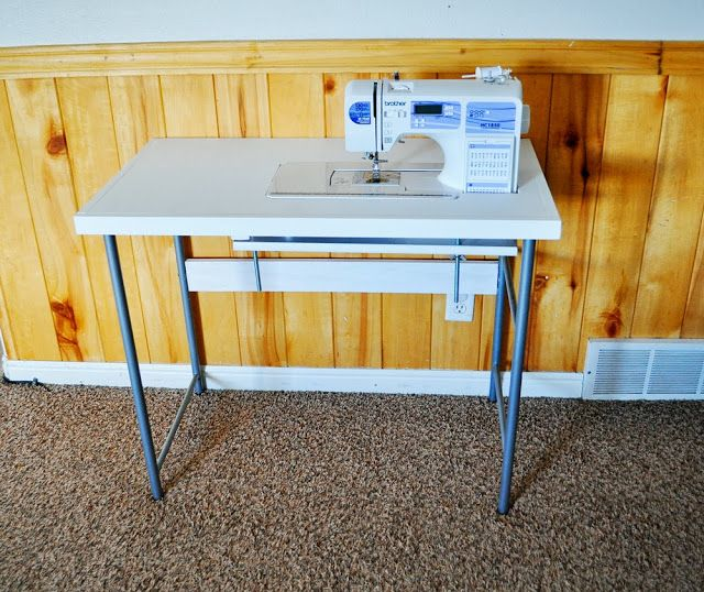 inspiring creations diy sewing table and first time free motion quilting