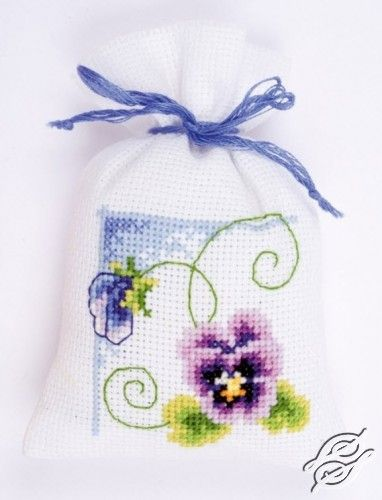 Purple Violet - Cross Stitch Kits by VERVACO - PN-0145102