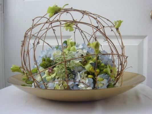 A unique flower arrangement from Florals Etc