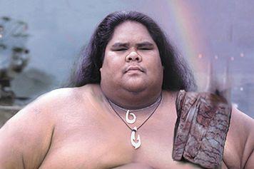 """Israel """"Iz"""" Kaʻanoʻi Kamakawiwoʻole, age 37, (May 20, 1959 – June 26, 1997)"""