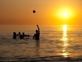 Paradise Summer Sea With Young People. Royalty Free Stock Photo, Pictures, Images And Stock Photography. Image 5386065.